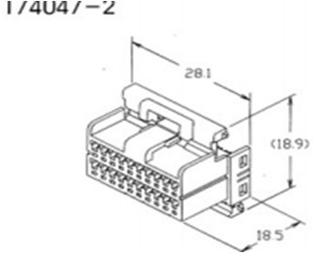 Peugeot 4241k4 further Products additionally Products moreover Product besides P Z52d8a0f 98162343 Original Launch X431 Iv X431 Gx4 X431 Master Update Version. on delphi connector 61